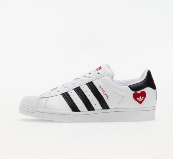 Мъжки кецове и обувки adidas Superstar Ftwr White/ Core Black/ Scarlet 520717