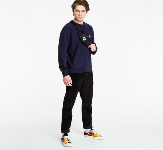 Суичъри и пуловери Stüssy Stock Logo Crewneck Sweatshirt Navy 709114