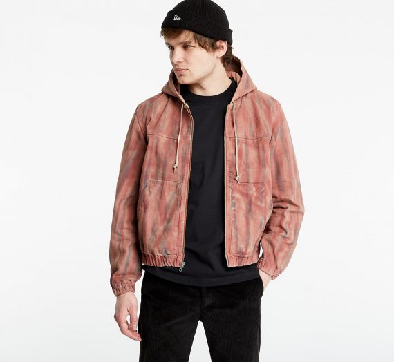 Якета Stüssy Dyed Work Jacket Rust 711421
