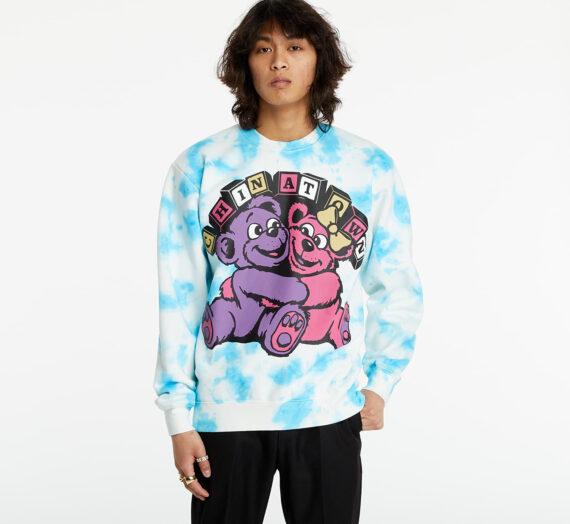 Суичъри и пуловери Chinatown Market Hypercute Crewneck Blue Tie Dye 726871