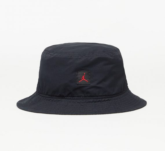 Бъкет шапки Jordan Bucket Jm Washed Cap Black/ Gym Red 731671