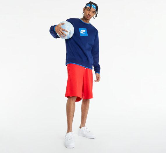 Суичъри и пуловери Jordan Jumpman Classics Men's Fleece Crew Sweatshirt Blue Void/ Signal Blue 744832