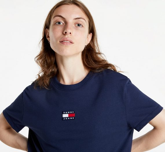 Тениски Tommy Jeans Tommy Center Badge Tee 747976