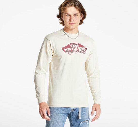 Тениски Vans Outwear Long Sleeve T-Shirt Oatmeal/ Pomegranate 778783