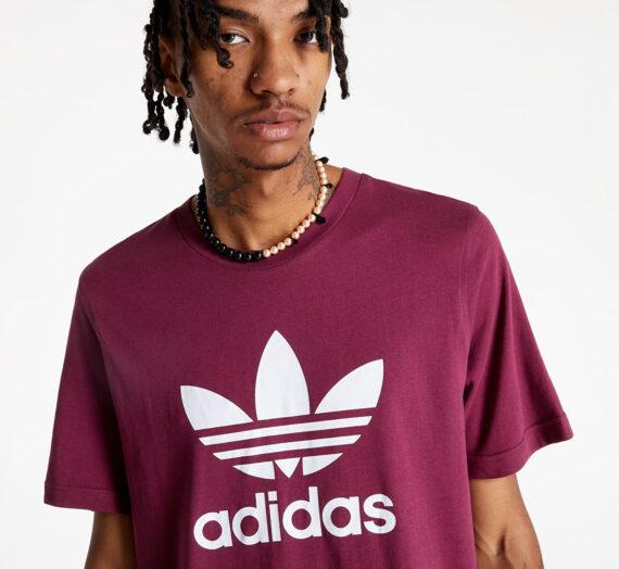 Тениски adidas Trefoil T-Shirt Viccri/ White 789685