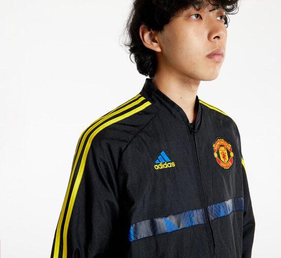 Треньорски якета adidas Mufc Icon Wo Jacket Black 792331