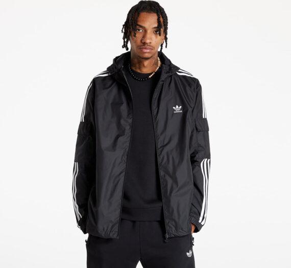 Якета и палта adidas 3-Stripes Windbreaker Black 793294
