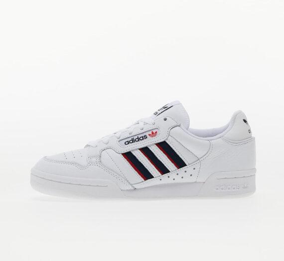Мъжки кецове и обувки adidas Continental 80 Stripe Ftw White/ Collegiate Navy/ Vivid Red 828739