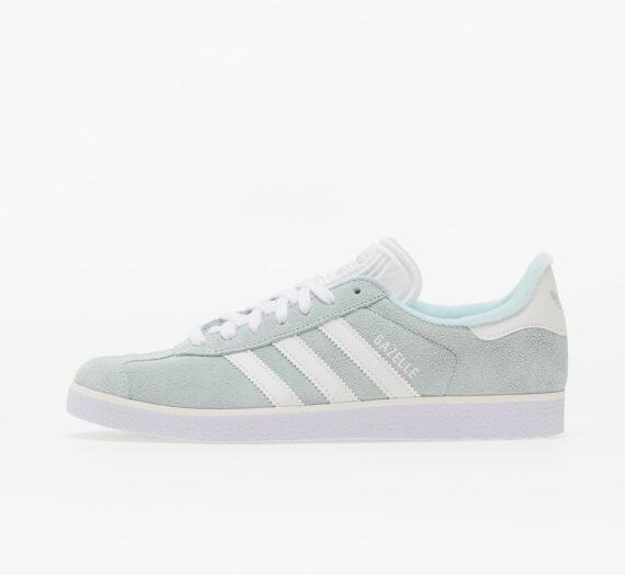 Дамски кецове и обувки adidas Gazelle W Halo Mint/ Core White/ Silver Metallic 835879