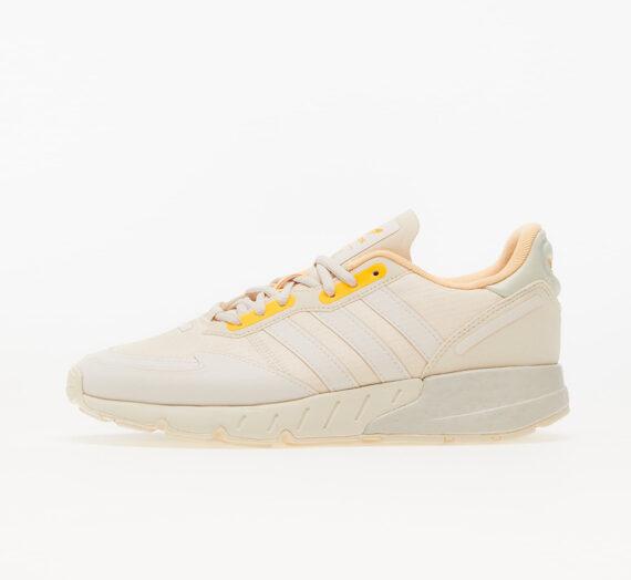 Дамски кецове и обувки adidas ZX 1K Boost W Worn White/ Worn White/ Acid Orange 836848