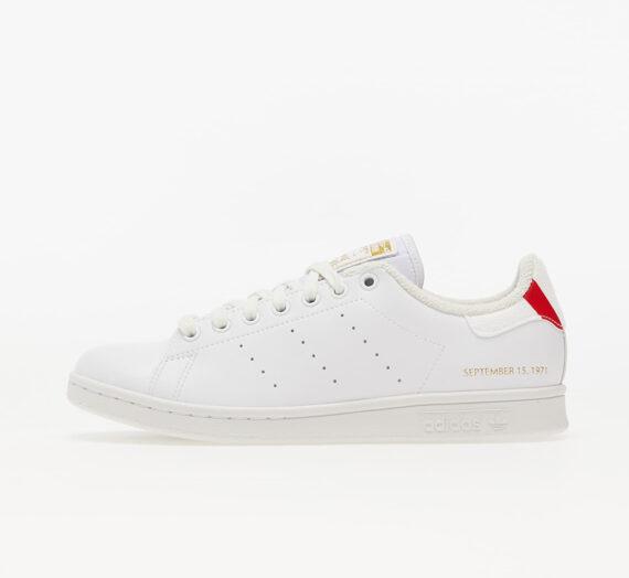 Мъжки кецове и обувки adidas Stan Smith Ftw White/ Blue/ Scarlet 840571