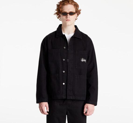 Якета Stüssy Canvas Chore Jacket Black 896962
