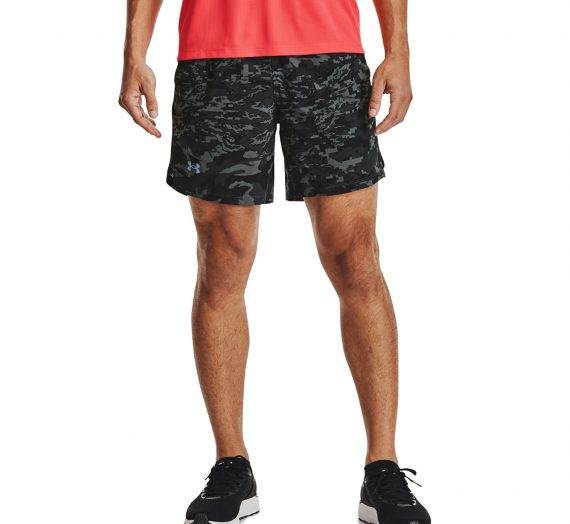 "Къси панталони Under Armour Launch Sw 7"" Prt Shorts Black 907006"