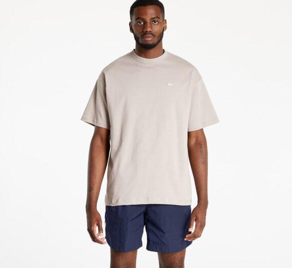 Тениски NikeLab Men's NRG Solo Swoosh SS Tee Malt/ White 946993