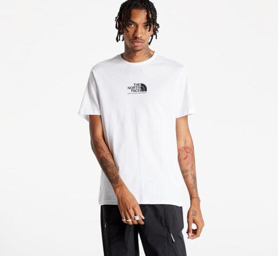 Тениски с къс ръкав The North Face Short Sleeved Fine Alp Tee 3 Tnf White/ Tnf Black 954847