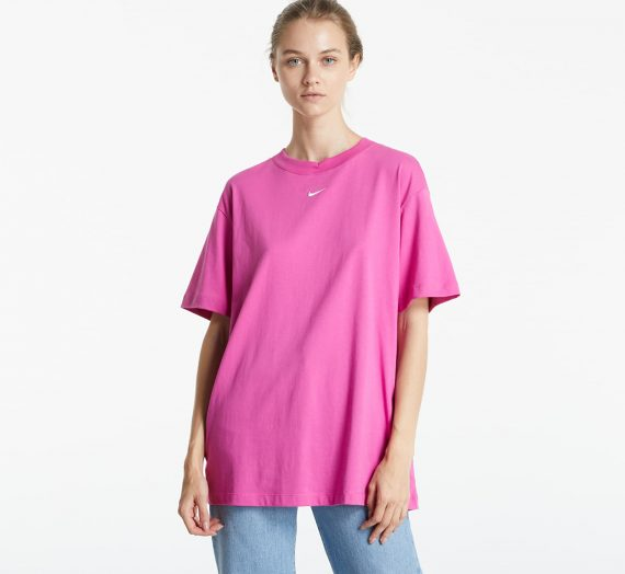 Тениски Nike Sportswear Essential Boyfriend Top Pink 955555