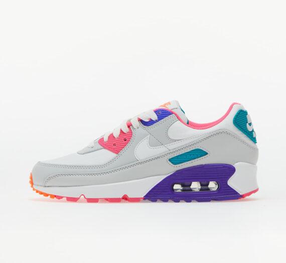 Дамски кецове и обувки Nike W Air Max 90 Photon Dust/ Summit White-Hyper Grape 956383