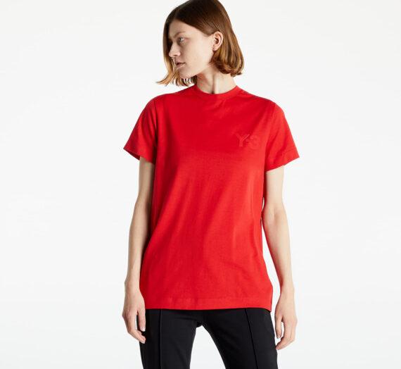 Тениски с къс ръкав Y-3 W Classic Logo SS Tee Collegiate Red 958906