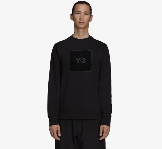 Суичъри и пуловери Y-3 U Square Label G Crew Black 959407