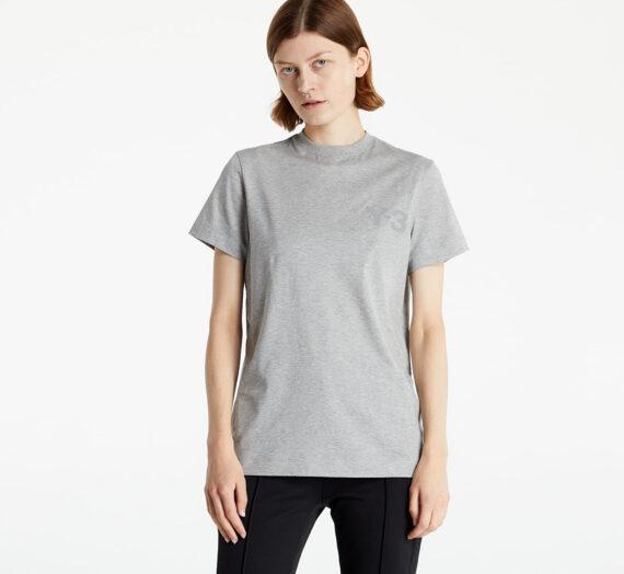 Тениски с къс ръкав Y-3 W Classic Logo SS Tee Medium Grey Heather 959782