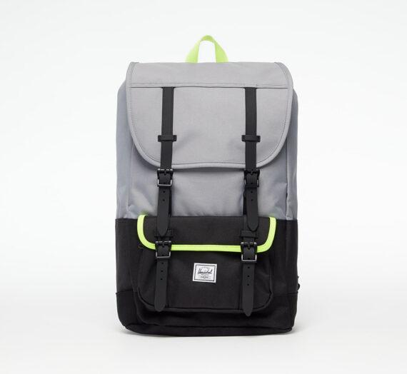 Раници Herschel Supply Co. Herschel Little America Pro Backpack Grey/ Black/ Safety Yellow 964393