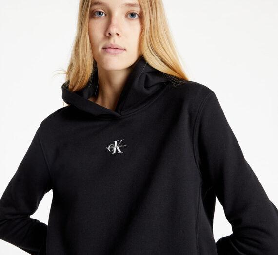 Суичъри и пуловери Calvin Klein Jeans Micro Monogram Hoodie Ck Black 976060