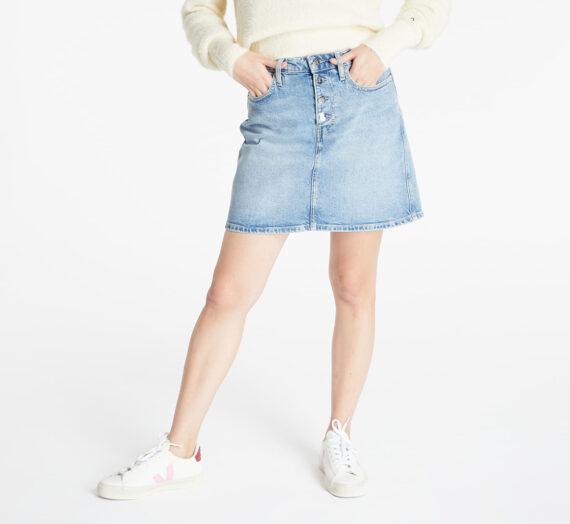 Поли Calvin Klein Jeans Hr Mini Skirt Denim Light 976141