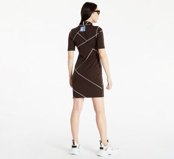 Рокли McQ In8 Tech Dress Soot 978643