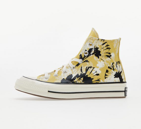 Дамски кецове и обувки Converse Chuck 70 Floral Fusion Saturn Gold/ Black/ Egret 984331