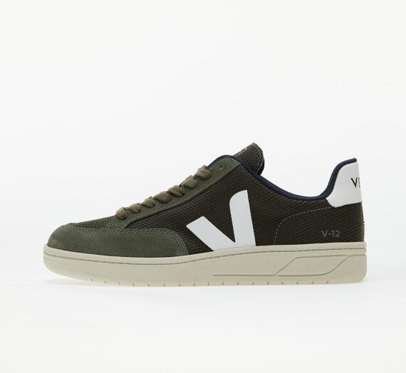 Мъжки кецове и обувки Veja V-12 B-Mesh Olive/ White 985969