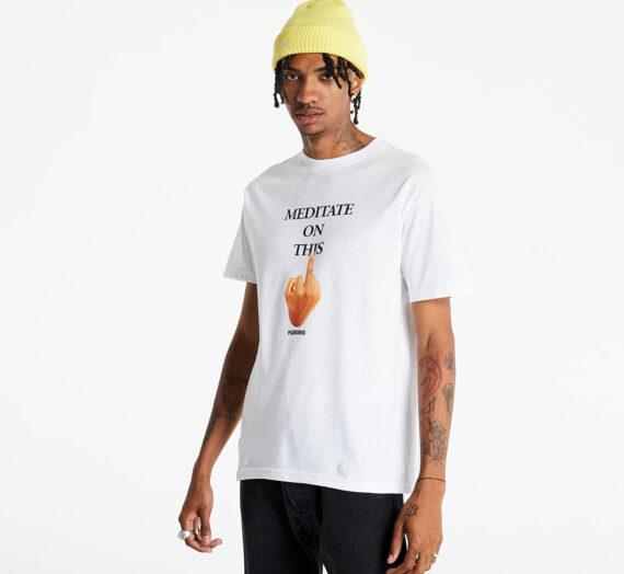 Тениски PLEASURES Message T-Shirt White 989071