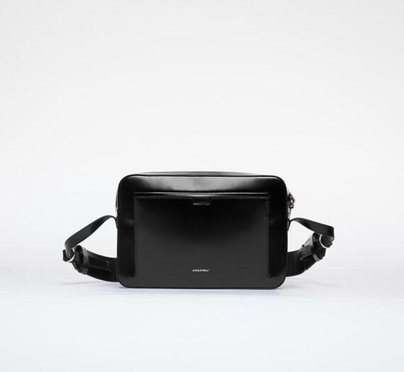 Crossbody чанти A-COLD-WALL* Cross Body Leather Bag Black 996394