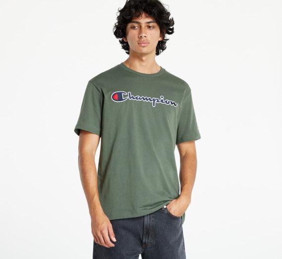 Тениски Champion Rochester Logo Tee Green 1063327