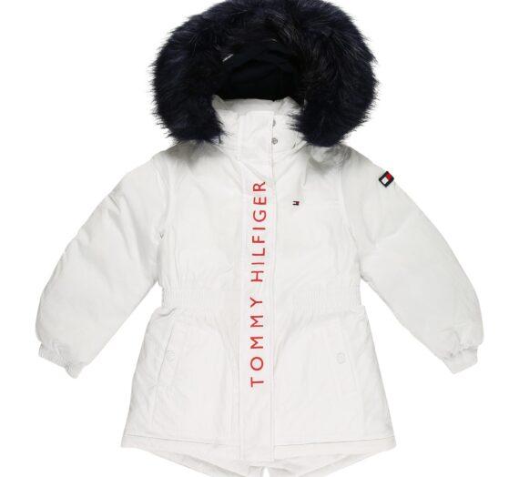 TOMMY HILFIGER Зимно яке  бяло / черно / червено / нейви синьо 46388523