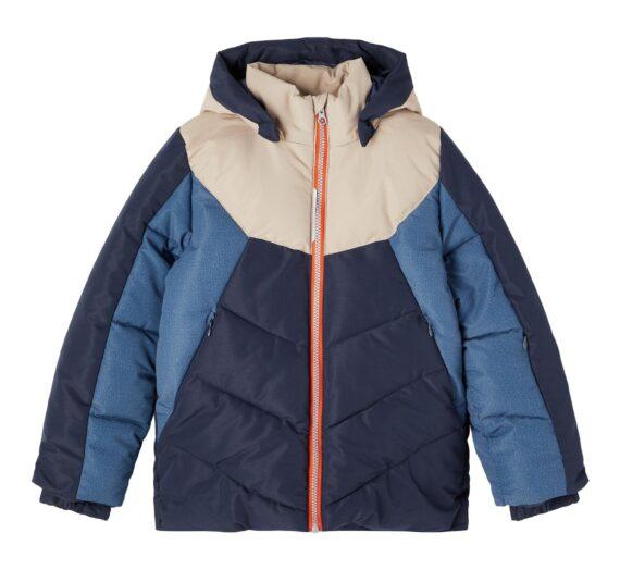 NAME IT Зимно яке 'Marco'  нощно синьо / гълъбово синьо / капучино / червено 46841780
