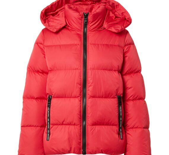 ARMANI EXCHANGE Зимно яке  червено / черно 47147654